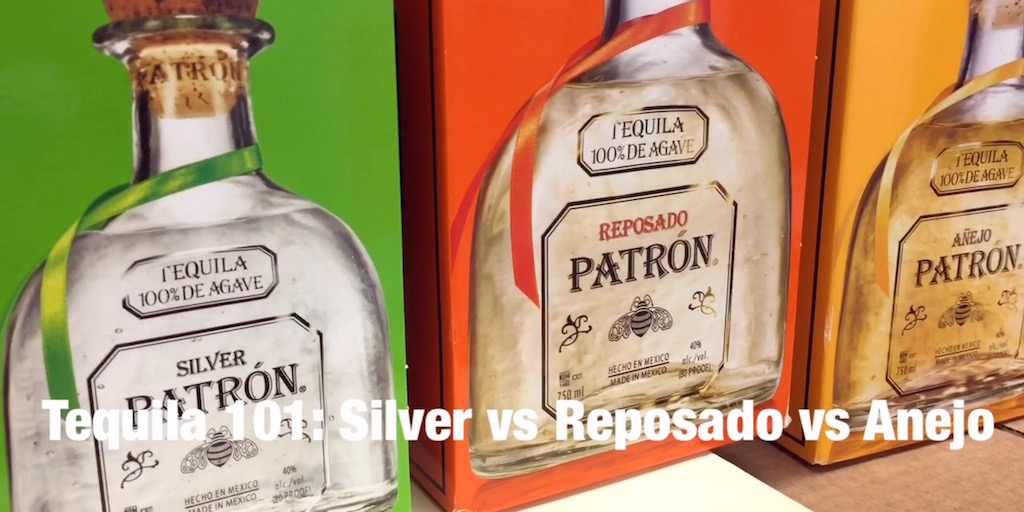 Tequila 101: Silver vs. Reposado vs. Anejo [Video]