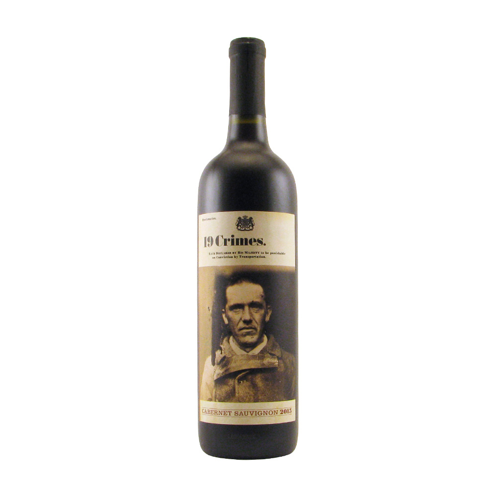 19 Crimes Cabernet Sauvignon 2019 750ML