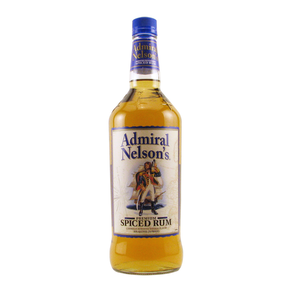 Admiral nelson spiced rum 1l elma wine liquor for Mix spiced rum with