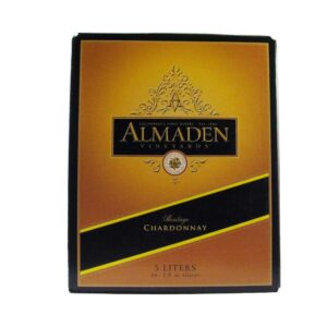 Almaden Chardonnay Box Wine 5L