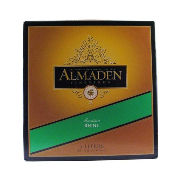 Almaden Mountain Rhine Box Wine 5L