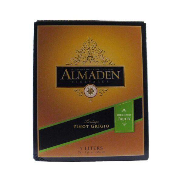 Almaden Pinot Grigio Box Wine 5L