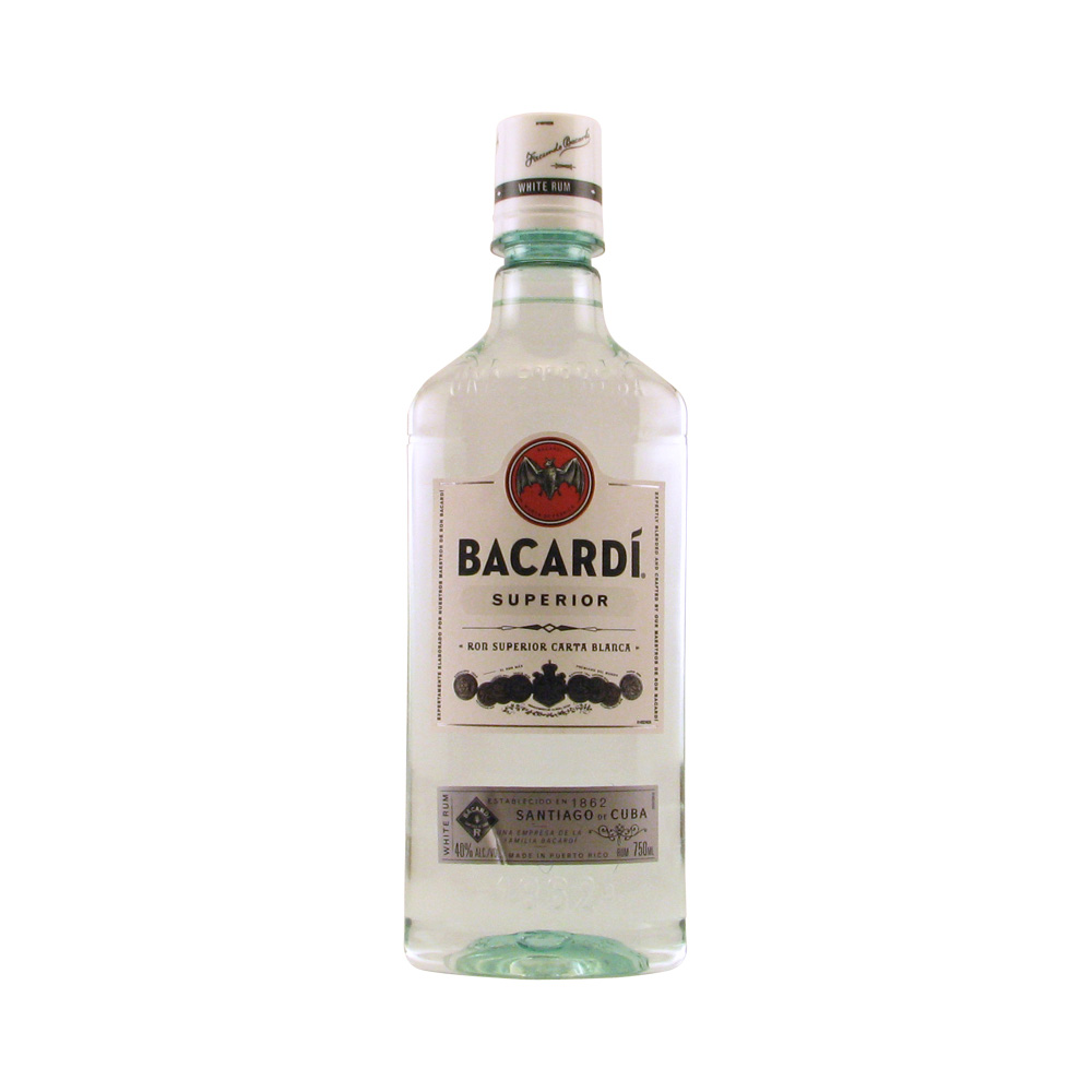 Bacardi Rum Superior 750ML