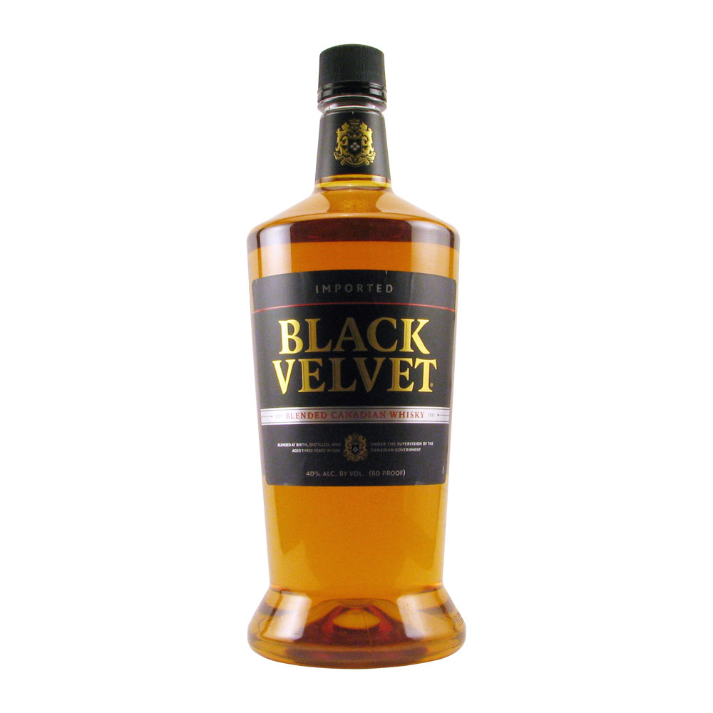 Black Velvet Canadian Whiskey 1.75L