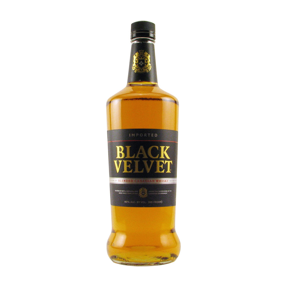 Black Velvet Canadian Whiskey 1L