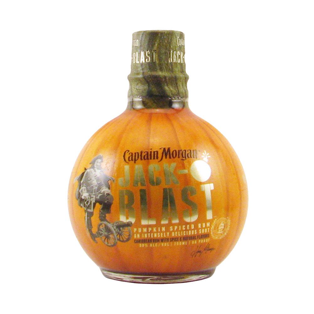Captain morgan jack o 39 blast pumpkin spiced rum 750ml for What goes good with spiced rum