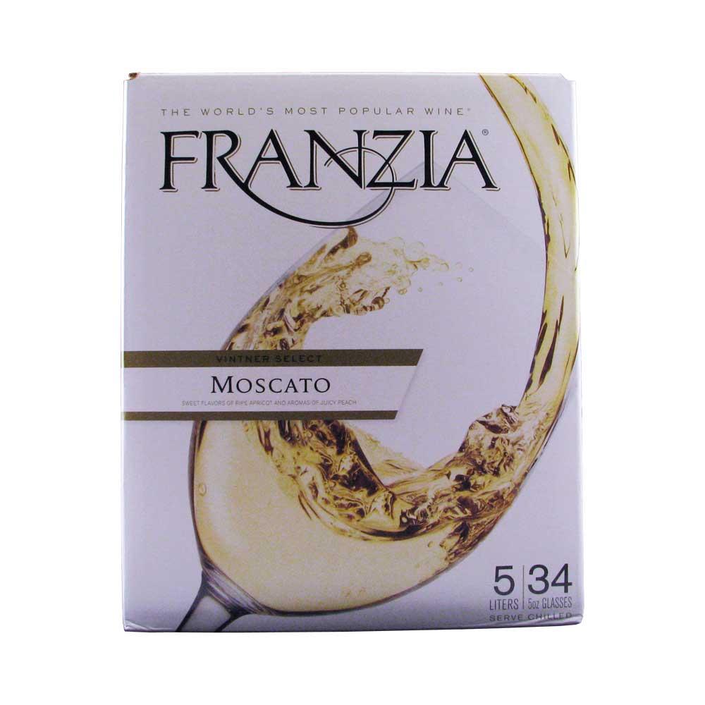 Franzia Moscato Box Wine 5L