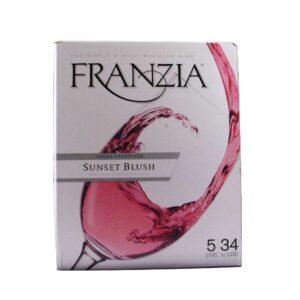 Franzia Sunset Blush Box Wine 5L