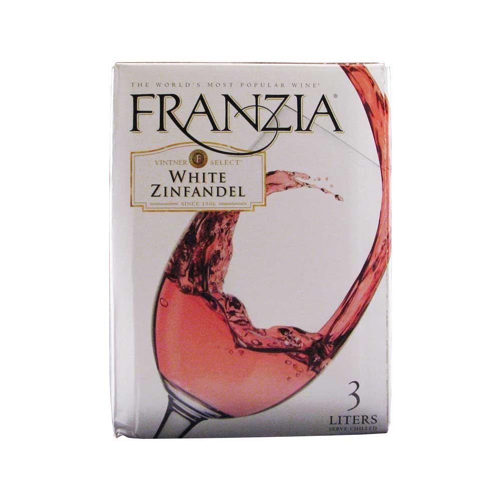 Franzia White Zinfandel Box WIne 3L