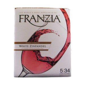 Franzia White Zinfandel Box Wine 5L