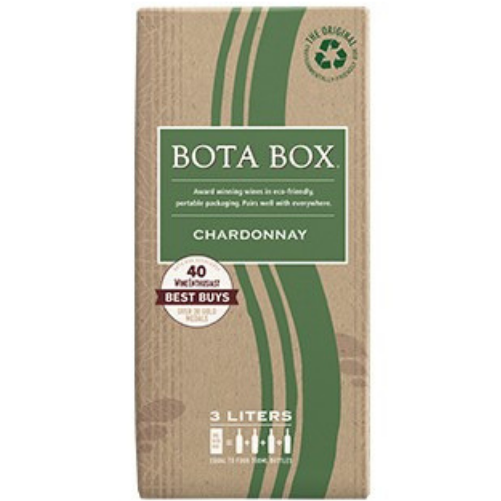 Bota Box Wine Chardonnay Box Wine 3L