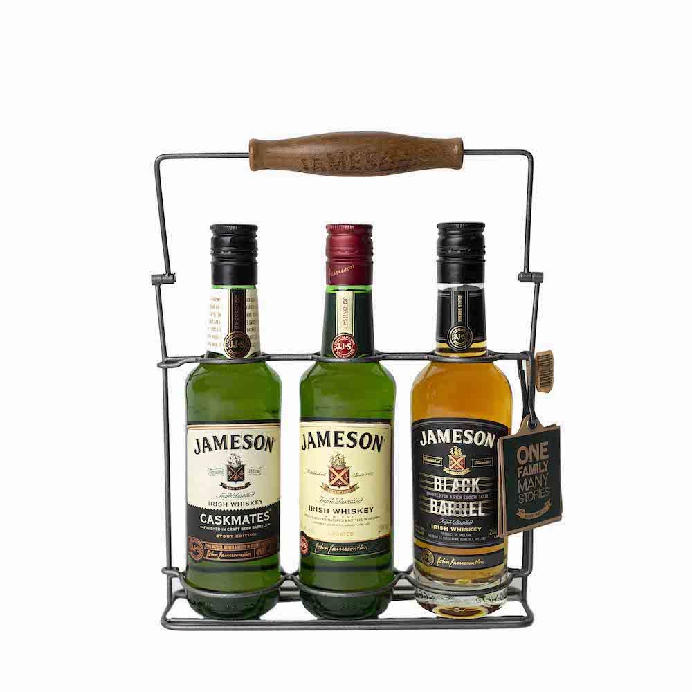 Jameson Irish Whiskey Trilogy Gift Set