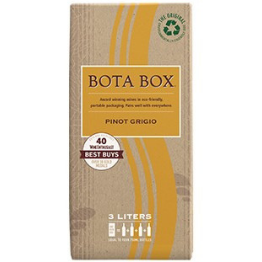 Bota Box Wine Pinot Grigio Box Wine 3L