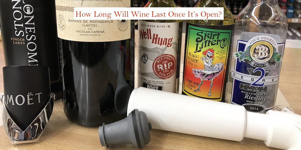 How Long Will Wine Last Once Open?