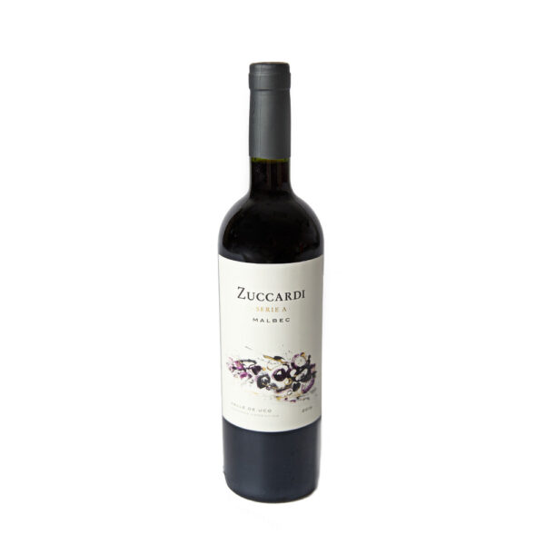 """Zuccardi Serie A Malbec 750ml - The Zuccardi Series A range demonstrates the richness and diversity of Argentina's many micro-climates and soils. Series A stands for """"Argentina Series"""" as the way of expressing our most representative grape verities by recognizing the best growing regions specific to each, and selecting top vineyard sites along the foot hills of the Andes mountains."""