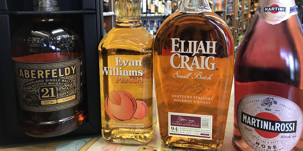 Tasting Scotch, Bourbon & Sparkling Rosé