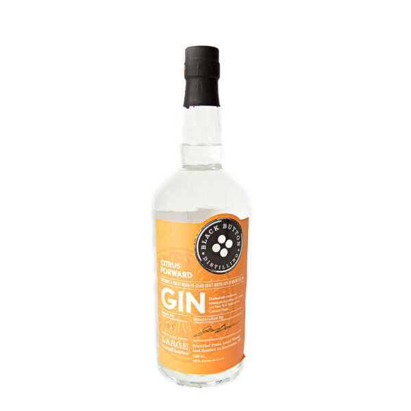 Black Button Distillery Citrus Gin 750ml