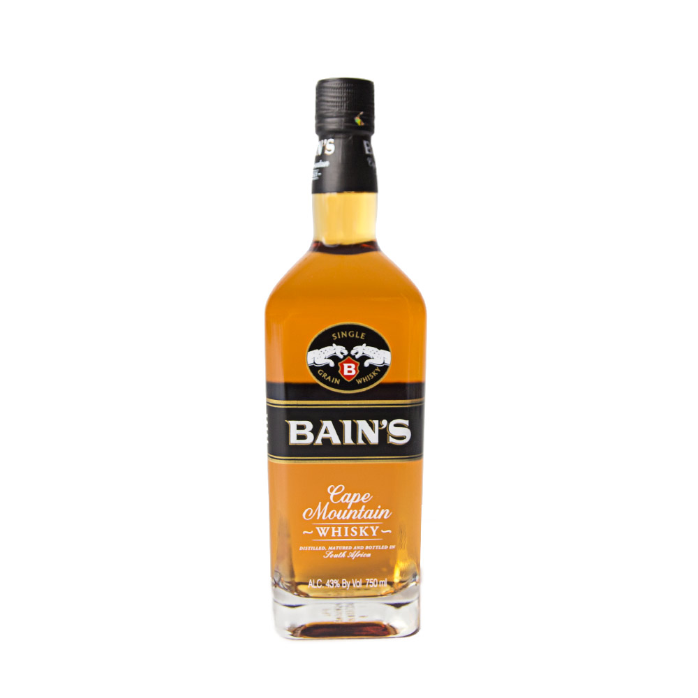 Bain 39 s cape mountain single malt whisky 750ml elma wine for Bain s whisky