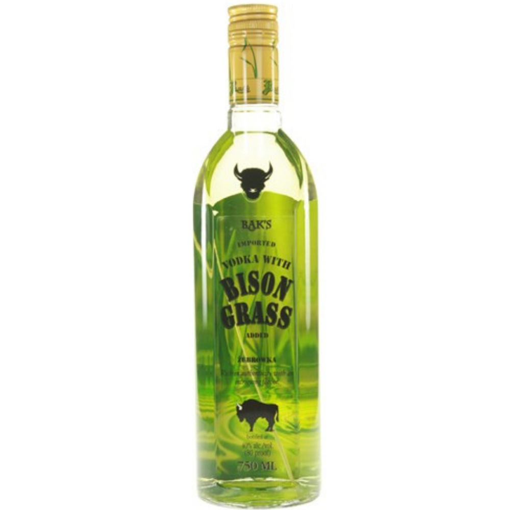 Baks Bison Grass Vodka 750ml