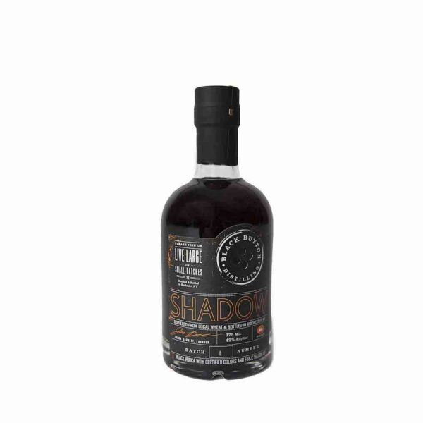 Black Button Shadow Black Vodka 375ml