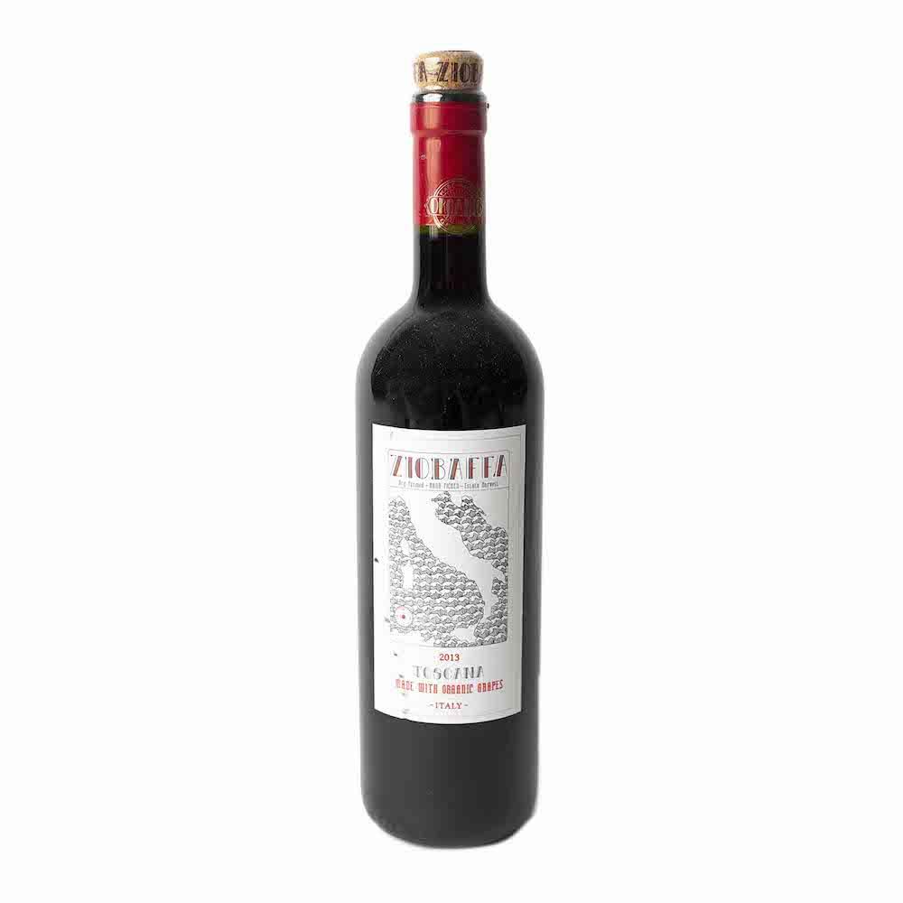 Ziobaffa Toscana Organic Red 2015 750ML