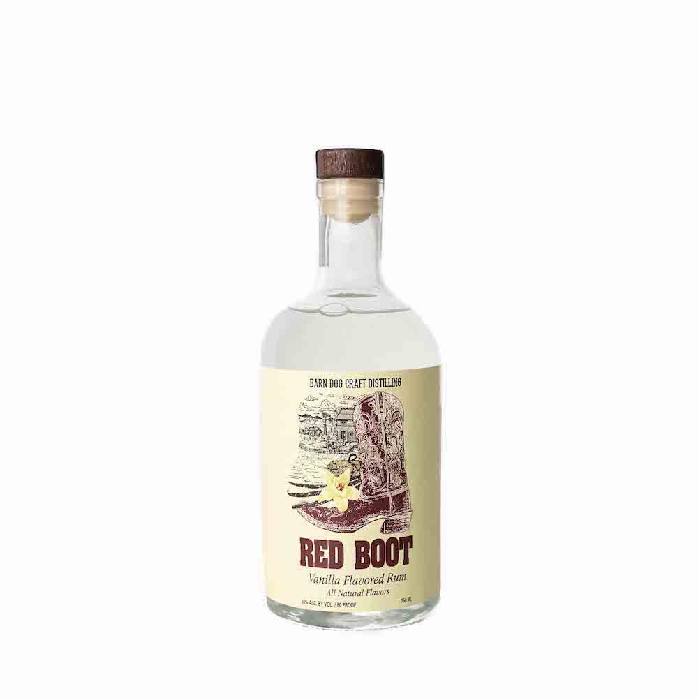 Barn Dog Craft Distilling Red Boot Vanilla Rum 750ML