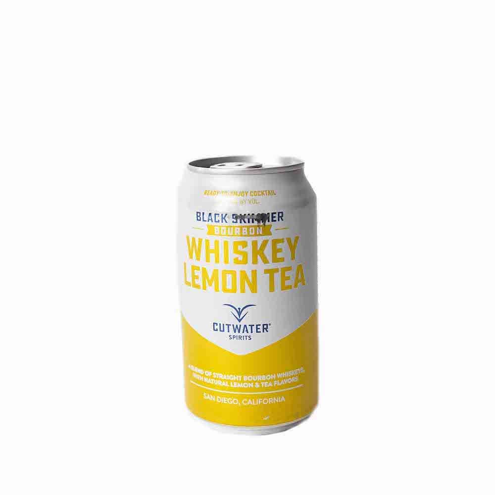 Cutwater Black Skimmer Bourbon Whiskey Lemon Tea 355ml