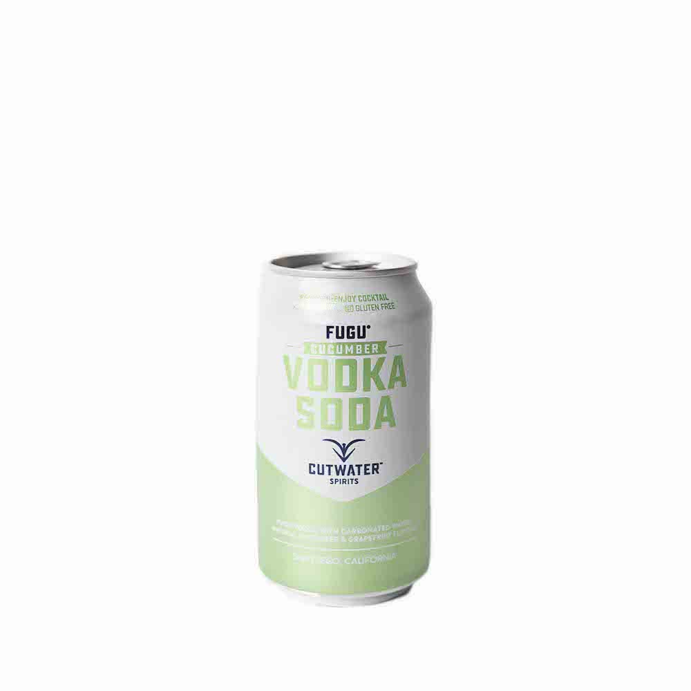 Cutwater Fugu Cucumber Vodka Soda 355ml