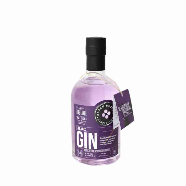 Black Button Lilac Gin 375ml
