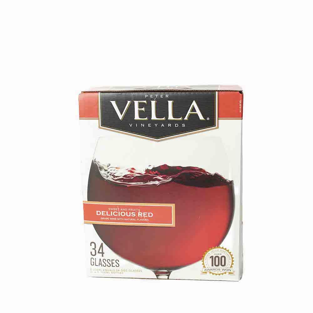 Peter Vella Delicious Red Box Wine 5L