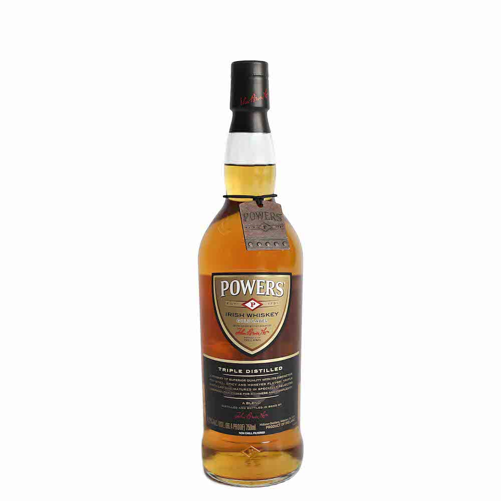 Power's Irish Whiskey Gold Label 750ml