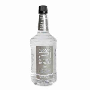 Recipe 21 Silver Tequila 1.75L
