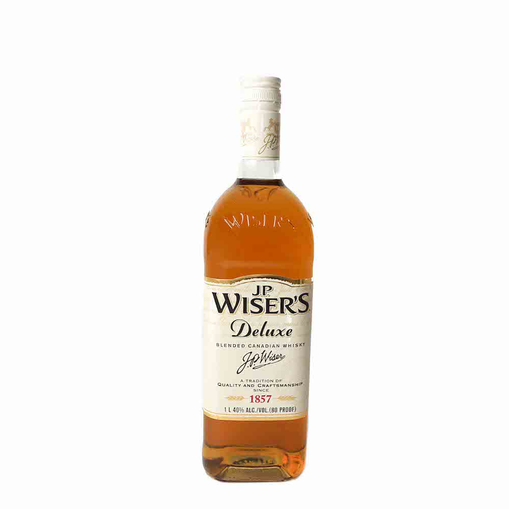 JP Wisers Deluxe Blended Canadian Rye Whiskey 1L