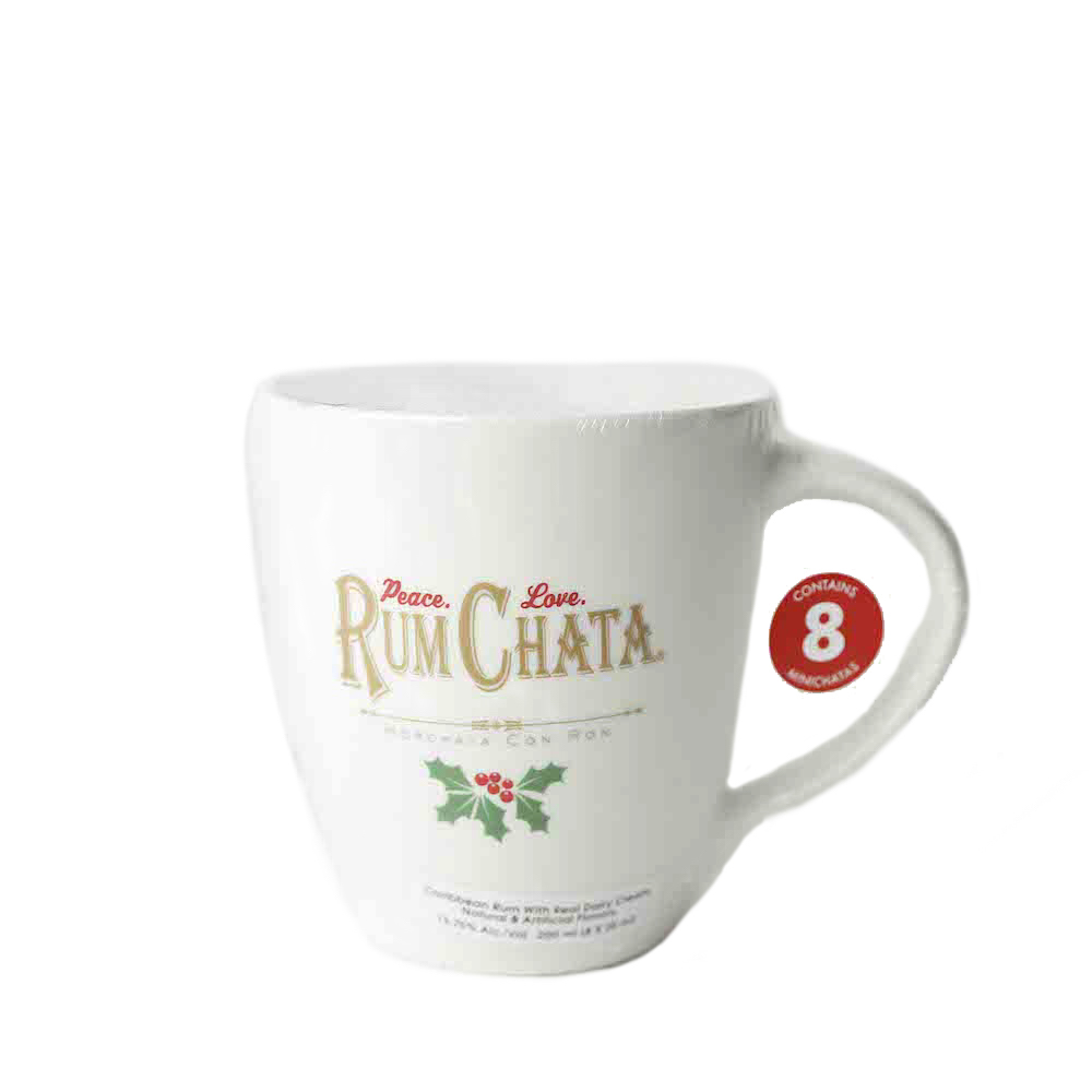 RumChata Mini Chatas With Coffee Mug 8 X 25ml