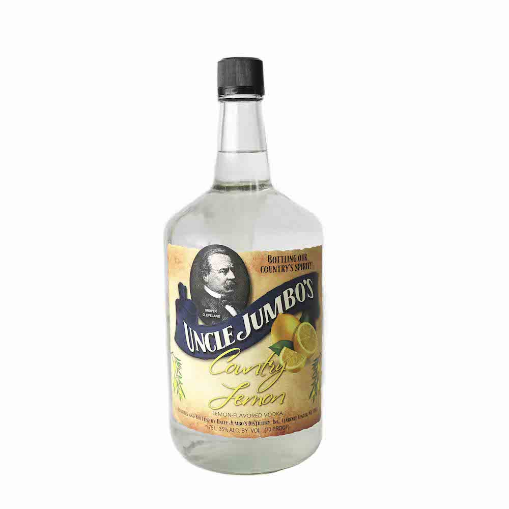 Uncle Jumbos American Vodka Country Lemon 1.75L