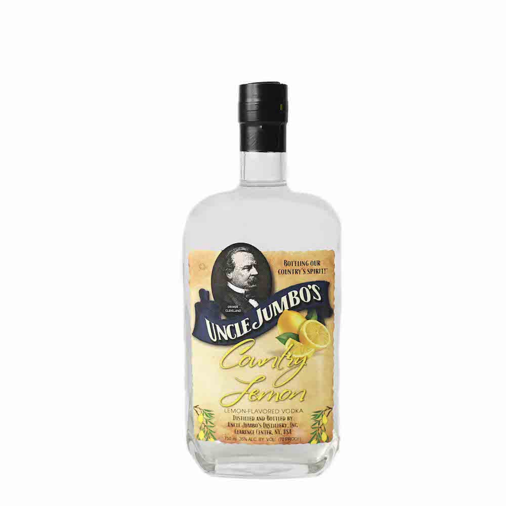 Uncle Jumbos American Vodka Country Lemon 750ml