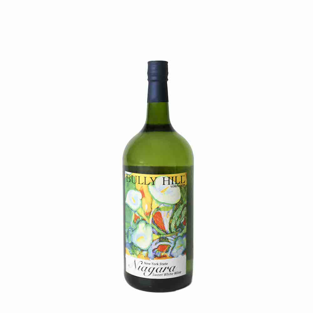 Bully Hill Niagara Sweet White Wine 1.5L