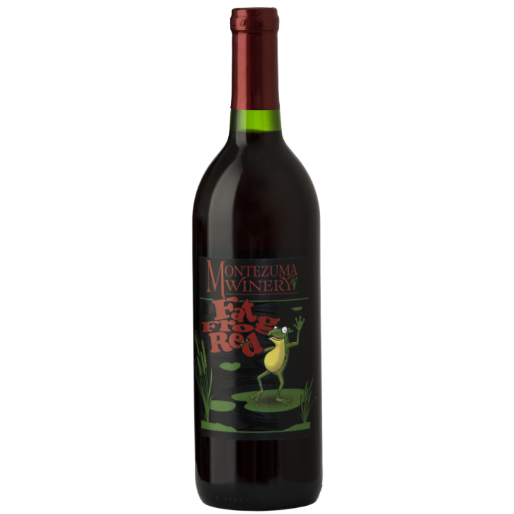 Montezuma Winery Fat Frog Red Wine 1.5L