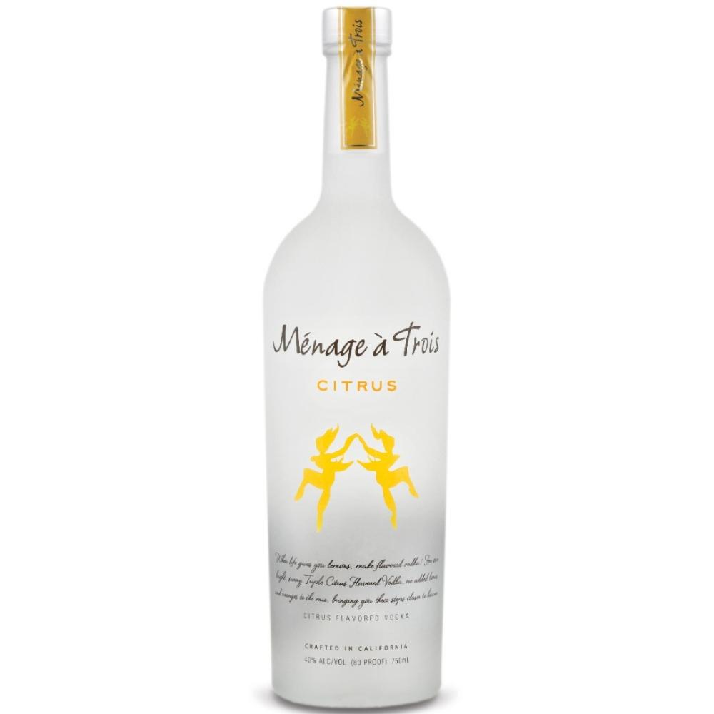 Menage A Trois Citrus Vodka 750ml