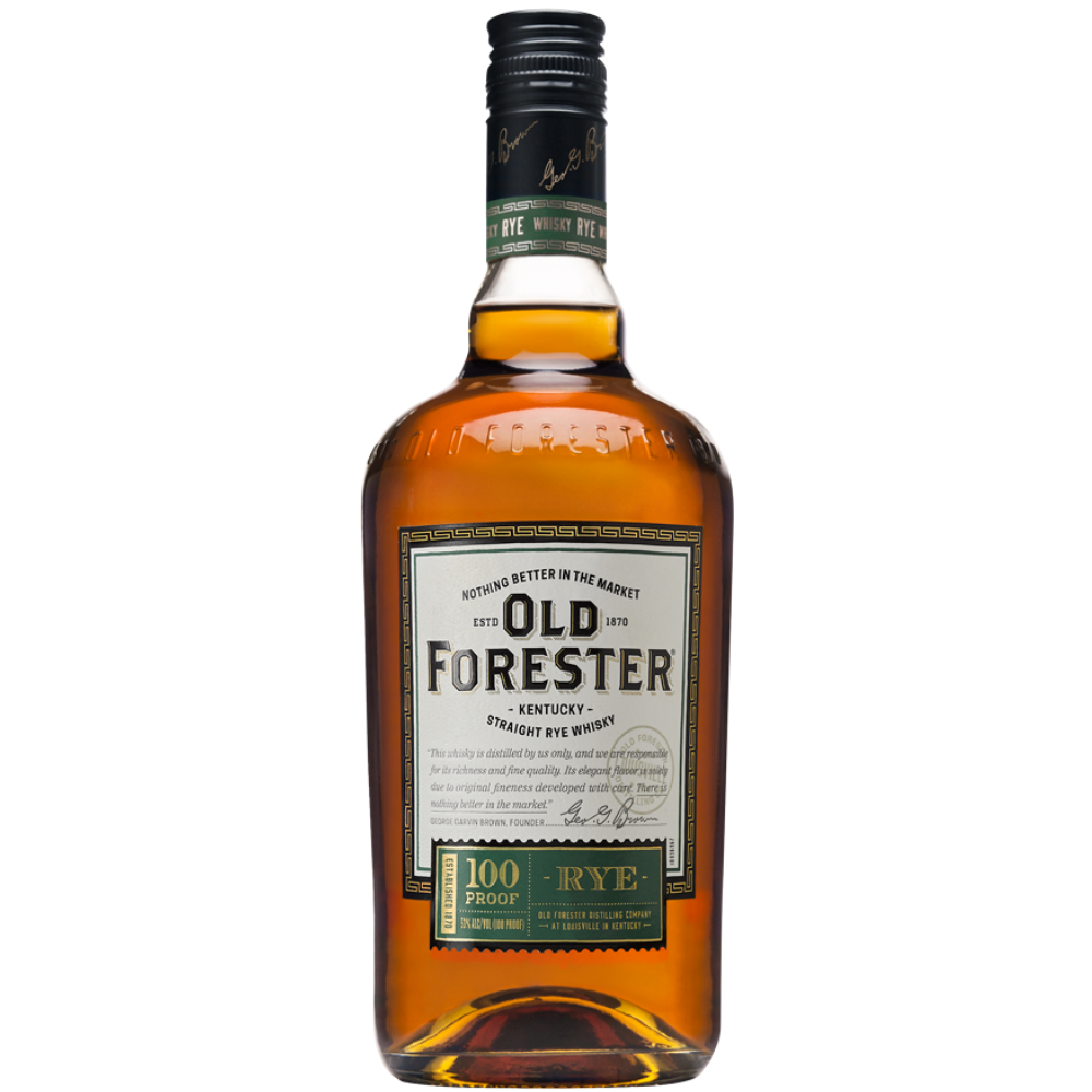 Old Forester Kentucky Straight Rye Whisky 1L