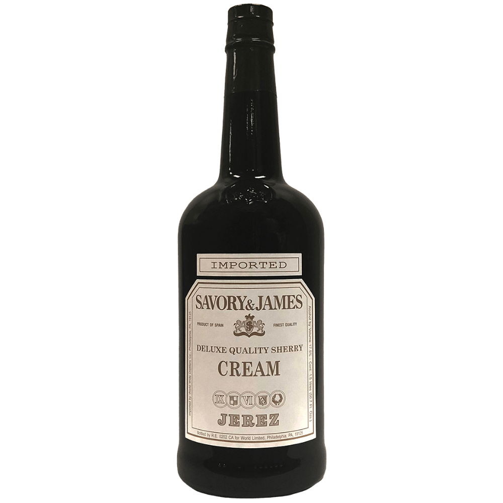 Savory & James Deluxe Quality Cream Sherry 1.5L