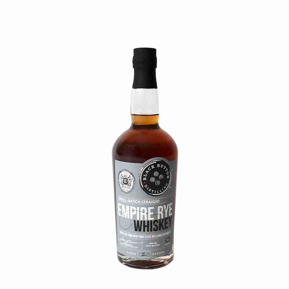 Black Button Small Batch Straight Empire Rye Whiskey 750ml