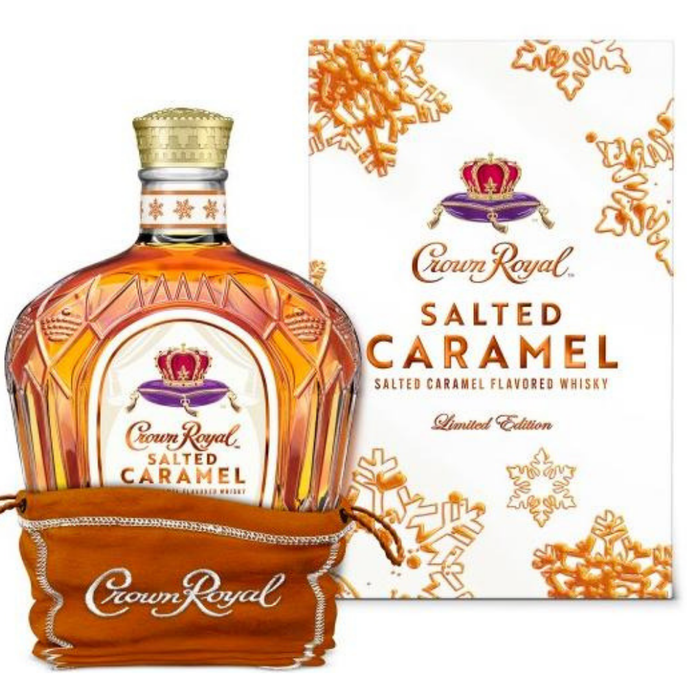 Crown Royal Limited Edition Salted Caramel Whisky 750ML