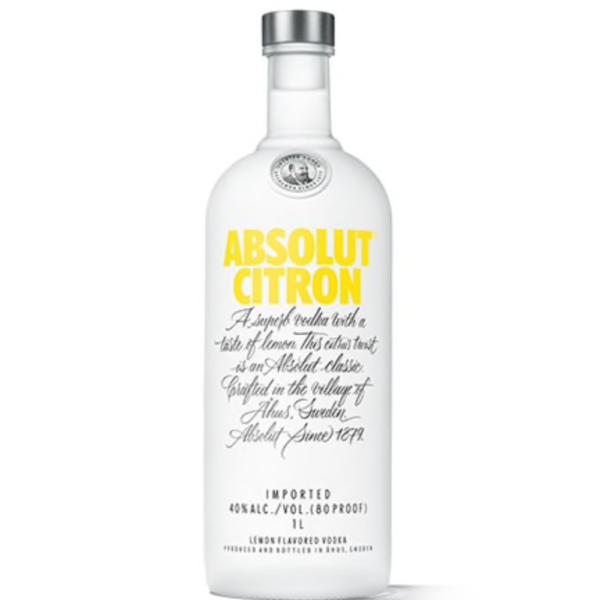 Absolut Vodka Citron 1L