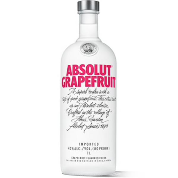 Absolut Vodka Grapefruit 1L
