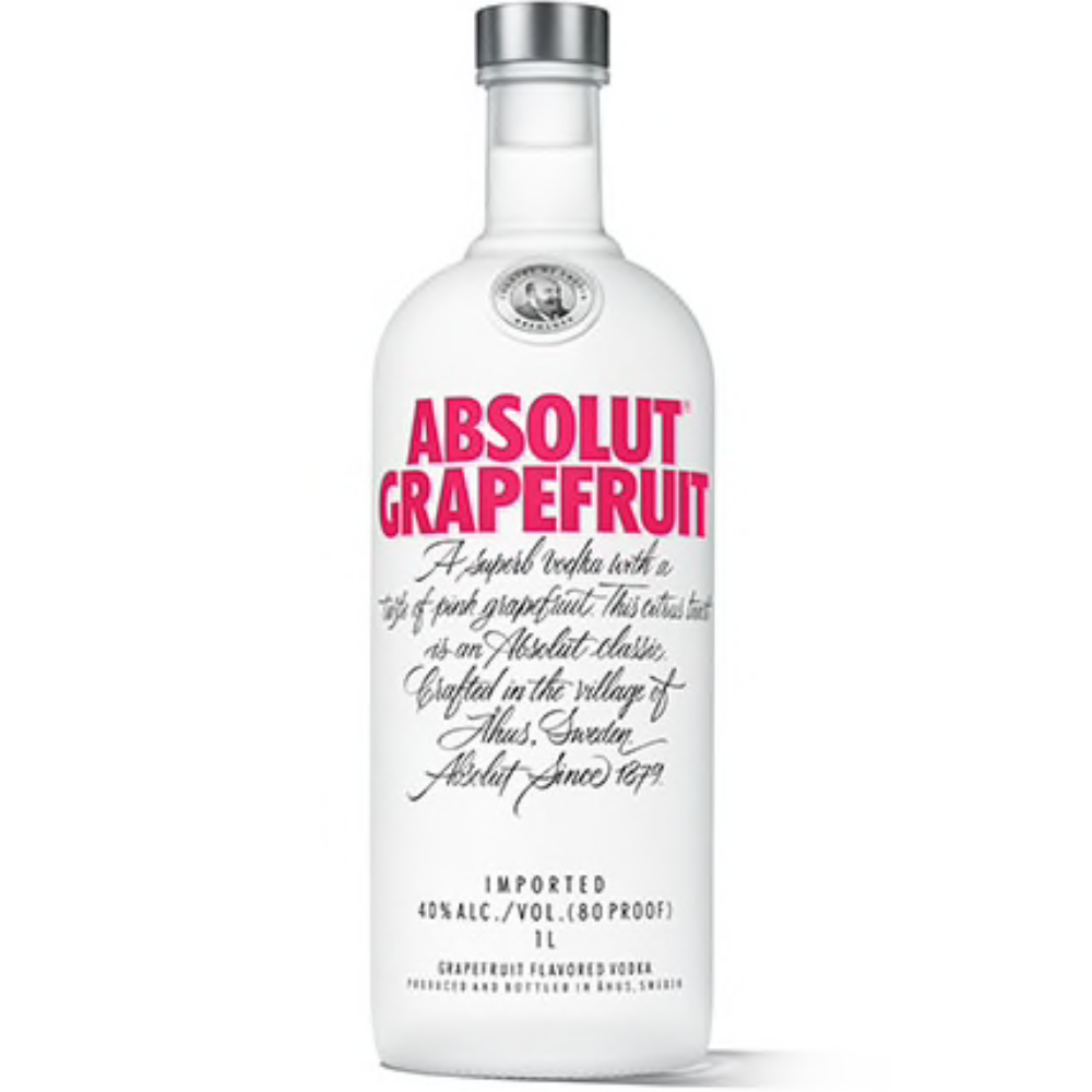 Absolut Vodka Grapefruit 1L