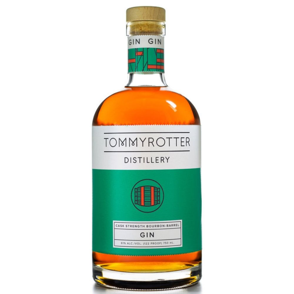 Tommyrotter Distillery Single Barrel Select Cask Strength Gin 750ml