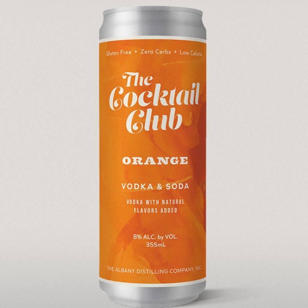 The Cocktail Club Orange Vodka Soda 355ml