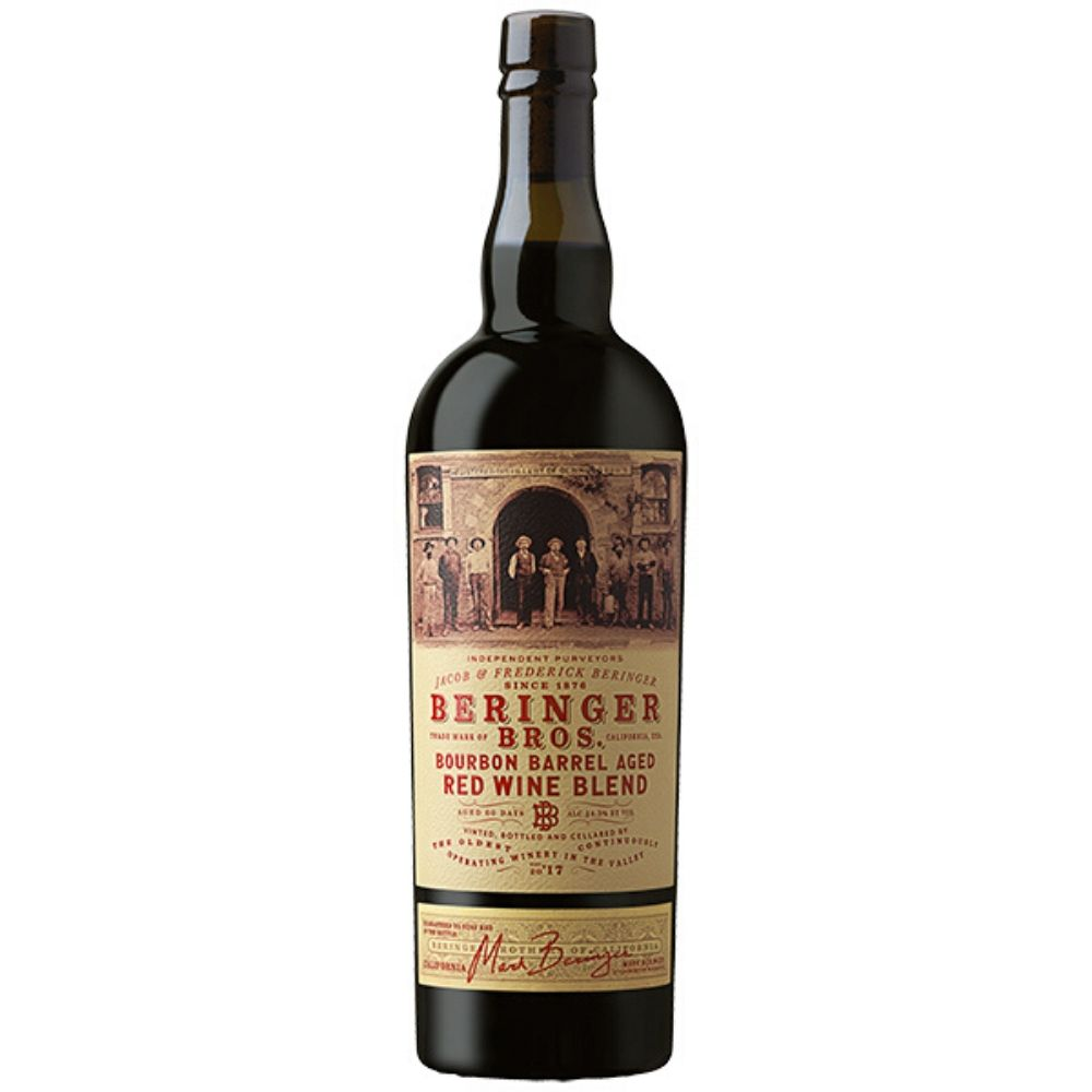 Beringer Bros. Bourbon Barrel Aged Red Blend 2017 750mL
