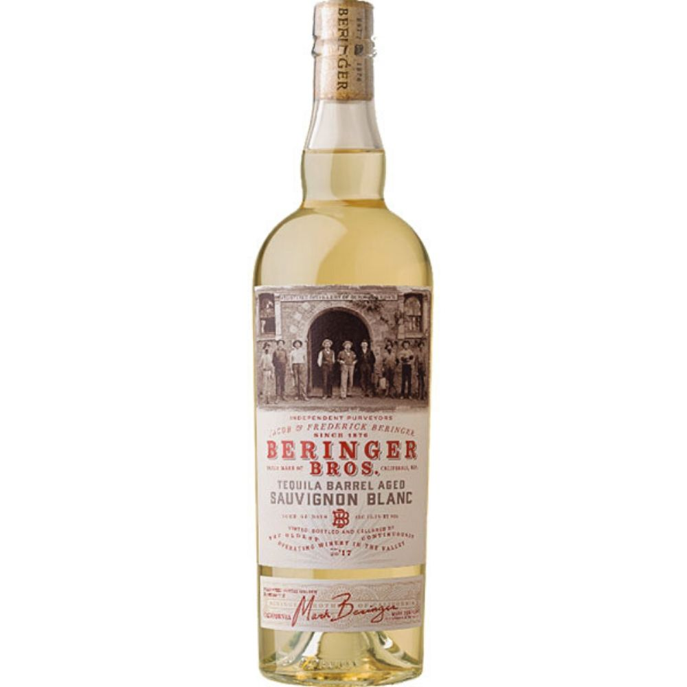 Beringer Bros. Tequila Barrel Aged Sauvignon Blanc 2017 750mL